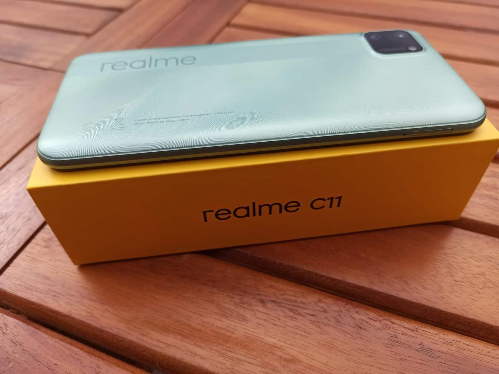 Realme C11 dorsale