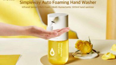 Photo de Simpleway, le produit parfait pour se laver les mains sans contact
