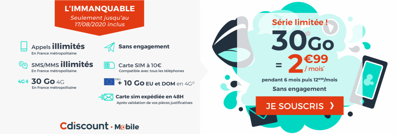 forfait-mobile-a-2-euros-cdiscount-mobile-30-go
