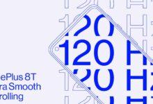 Photo de OnePlus 8t : vers un taux de rafraichissement à 120 Hz !
