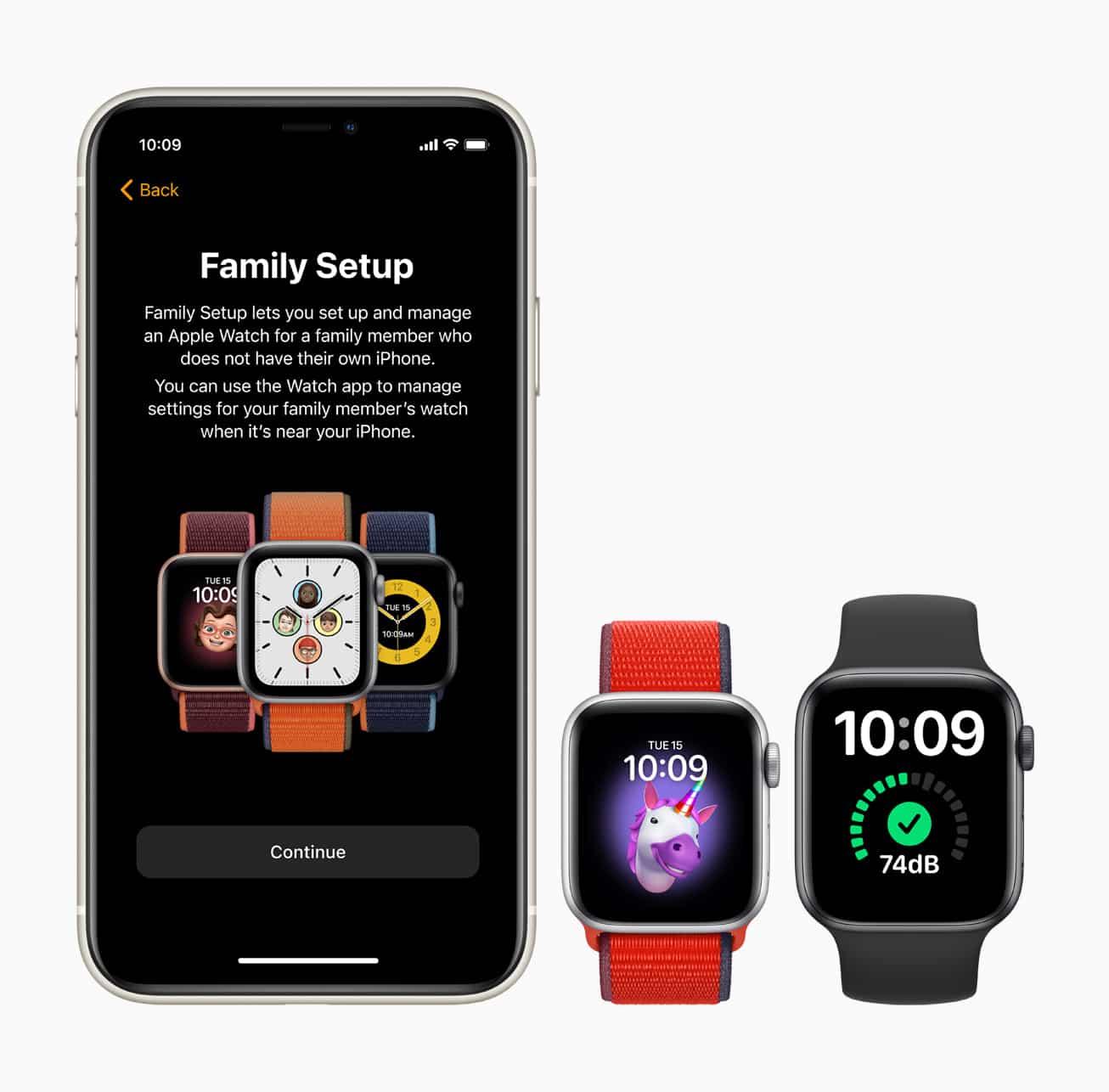 Family Setup Apple