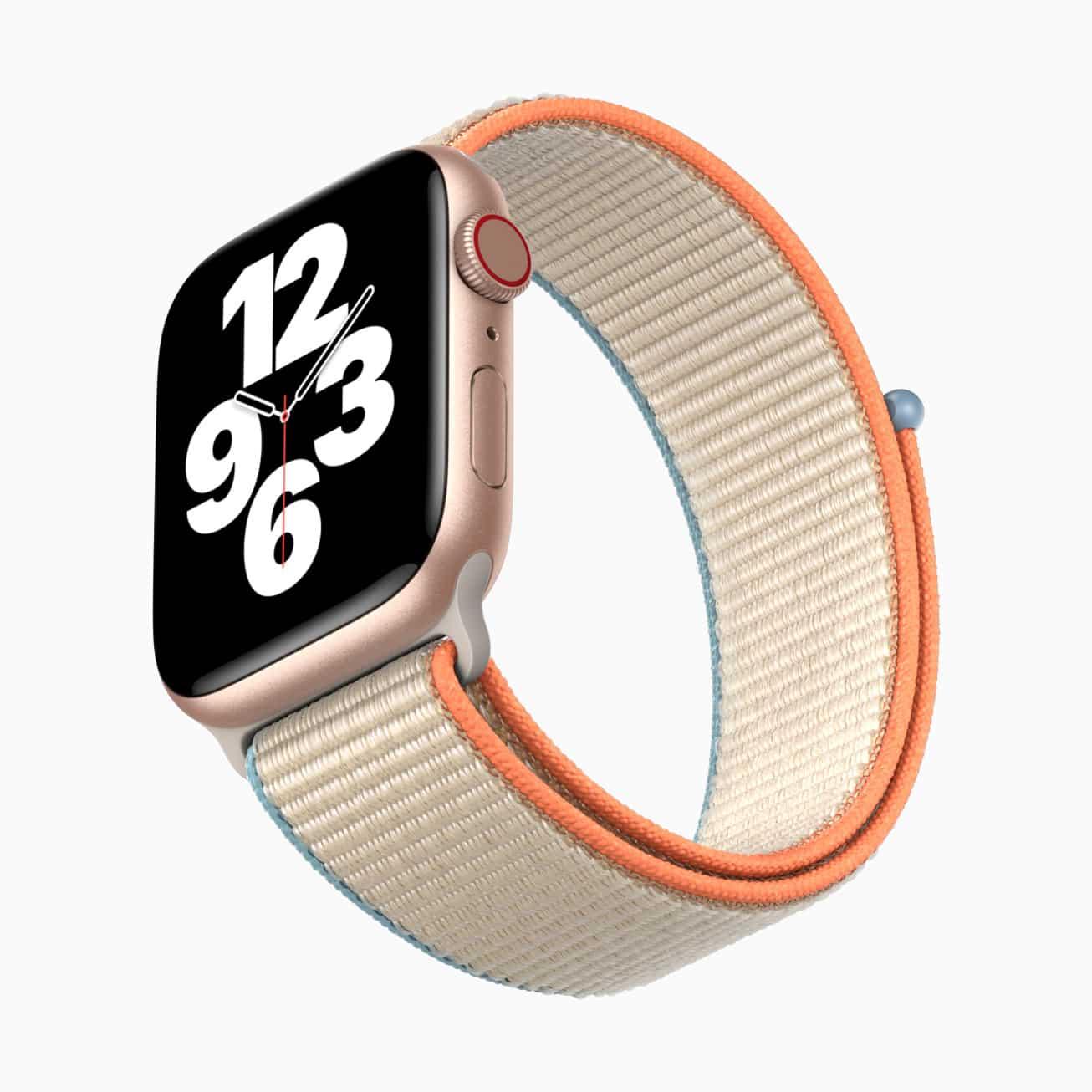 Apple Watch SE de face