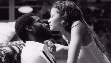 John David Washington et Zendaya dans Malcolm & Marie