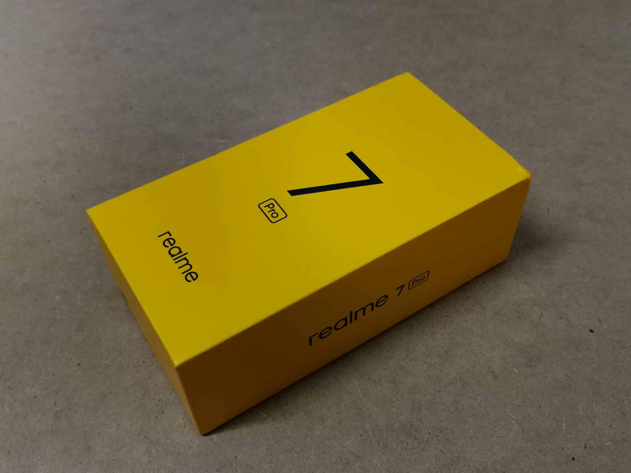 Realme 7 Pro boite