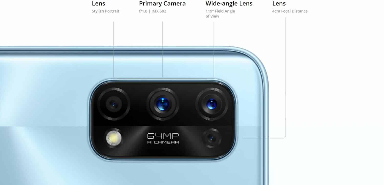 Realme 7 Pro capteur