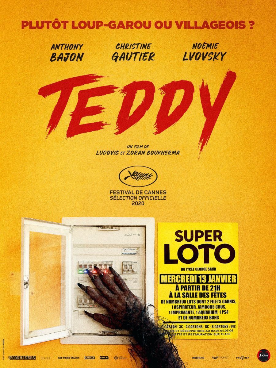 Affiche du film Teddy des frères Boukherma
