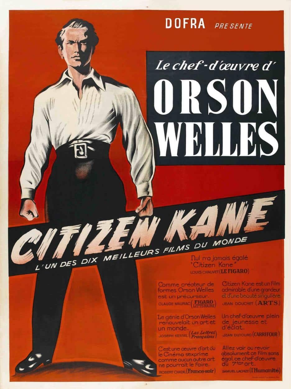 Affiche française de Citizen Kane