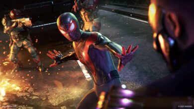 version ps4 jeux ps5 spider-man miles morales