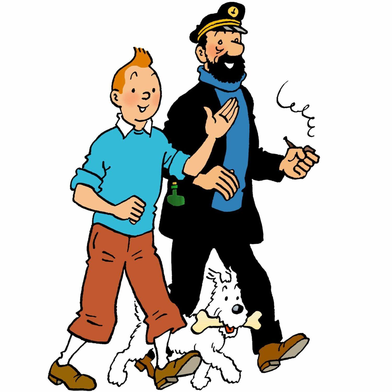 Tintin, Milou et Haddock