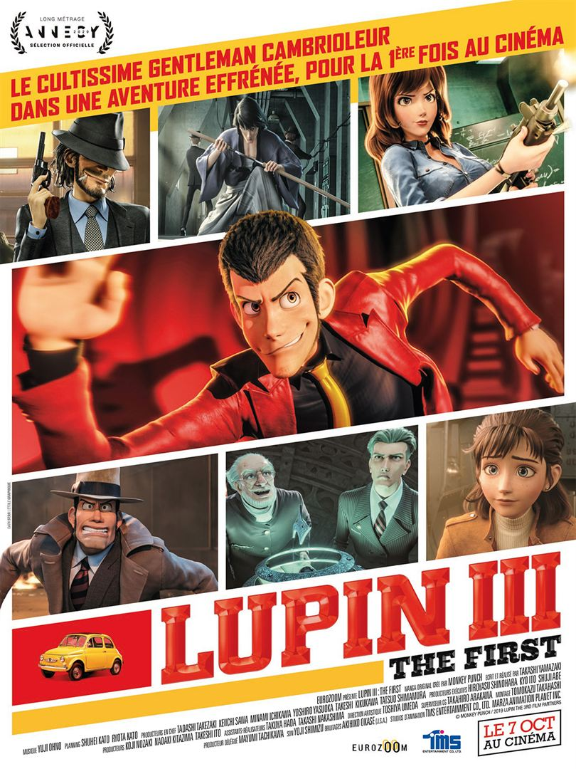 Affiche du film Lupin III : The First