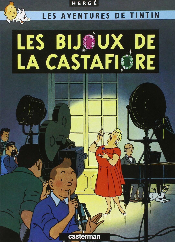 1ère de couverture de la bande dessinée Les Bijoux de la Castafiore