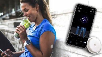 Photo de Libre Sense by Abbott, le premier biocapteur de glucose dédié aux athlètes