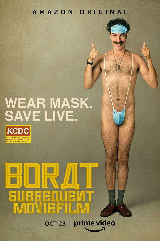 Affiche américaine de Borat, le Film d'Après