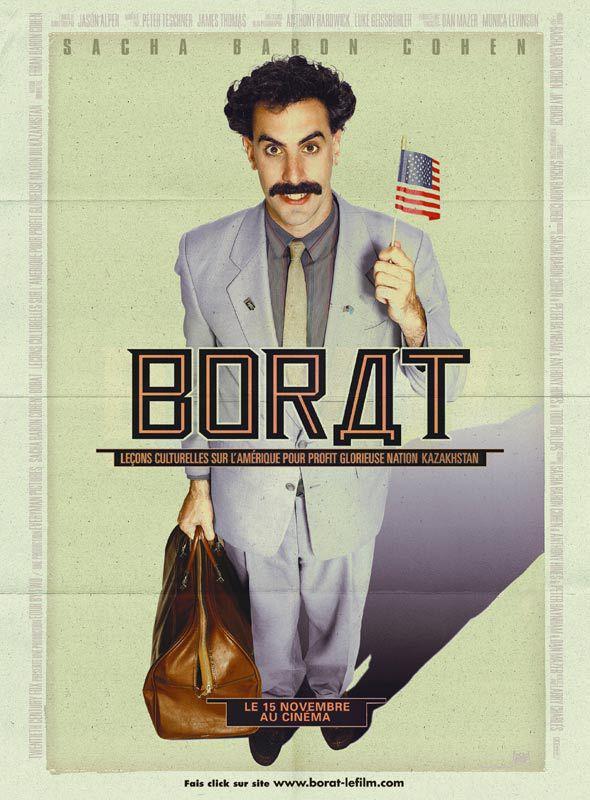 Affiche française du film Borat (2007)