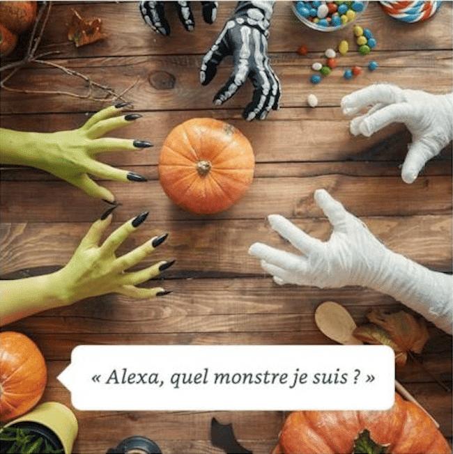 Quelle créature êtes vous, Alexa et Halloween