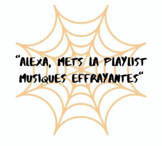 Musique Alexa pour Halloween