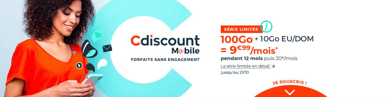Cdiscount-forfait-mobile-100-go-octobre-2020