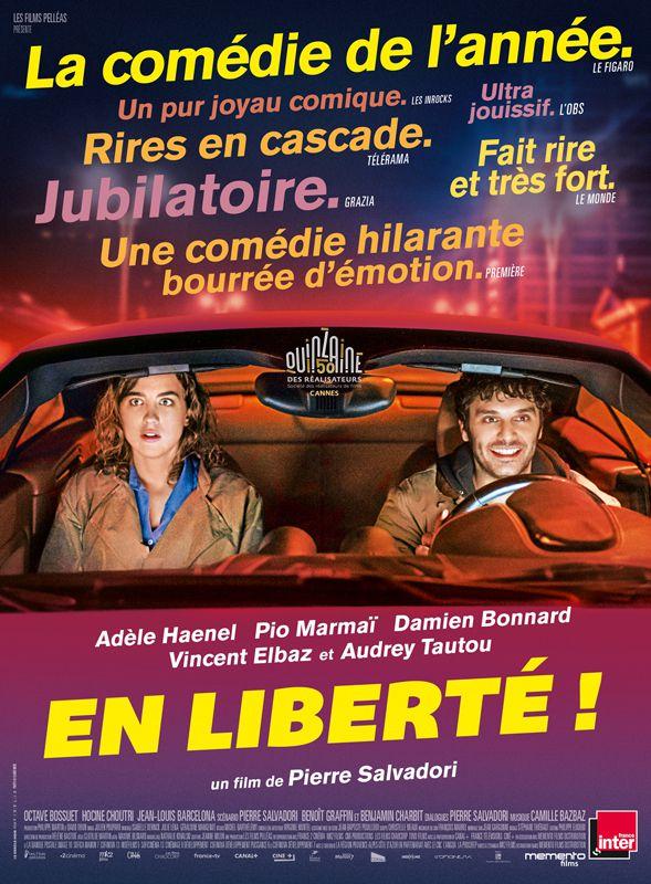 Affiche du film En Liberté ! de Pierre Salvadori