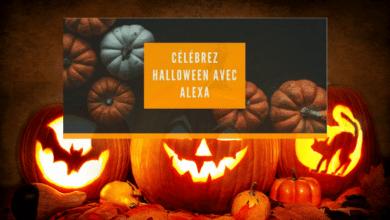Alexa fête Halloween