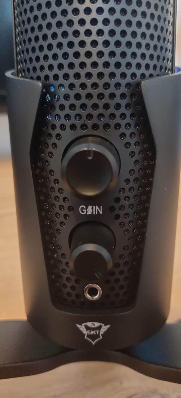 GXT 258 Fyru, vue bouton