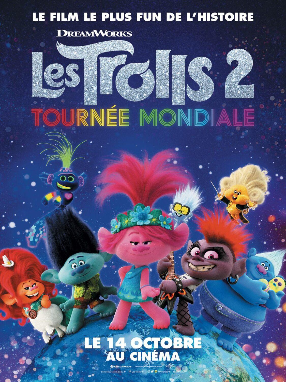 Affiche du film Les Trolls 2 : Tournée mondiale