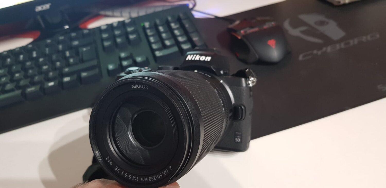 Nikon Z50 - DX 50 mm - 250 mm