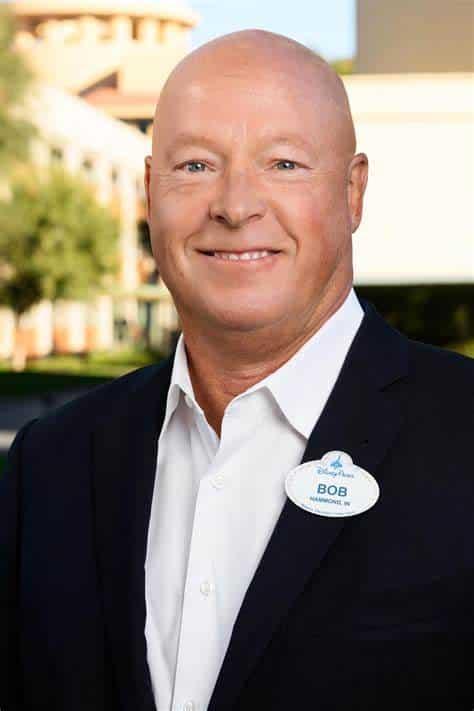 Bob Chapek, CEO de la Walt Disney Company