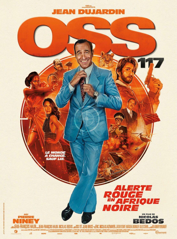 Affiche du film OSS 117 : Alerte Rouge en Afrique Noire (2021)
