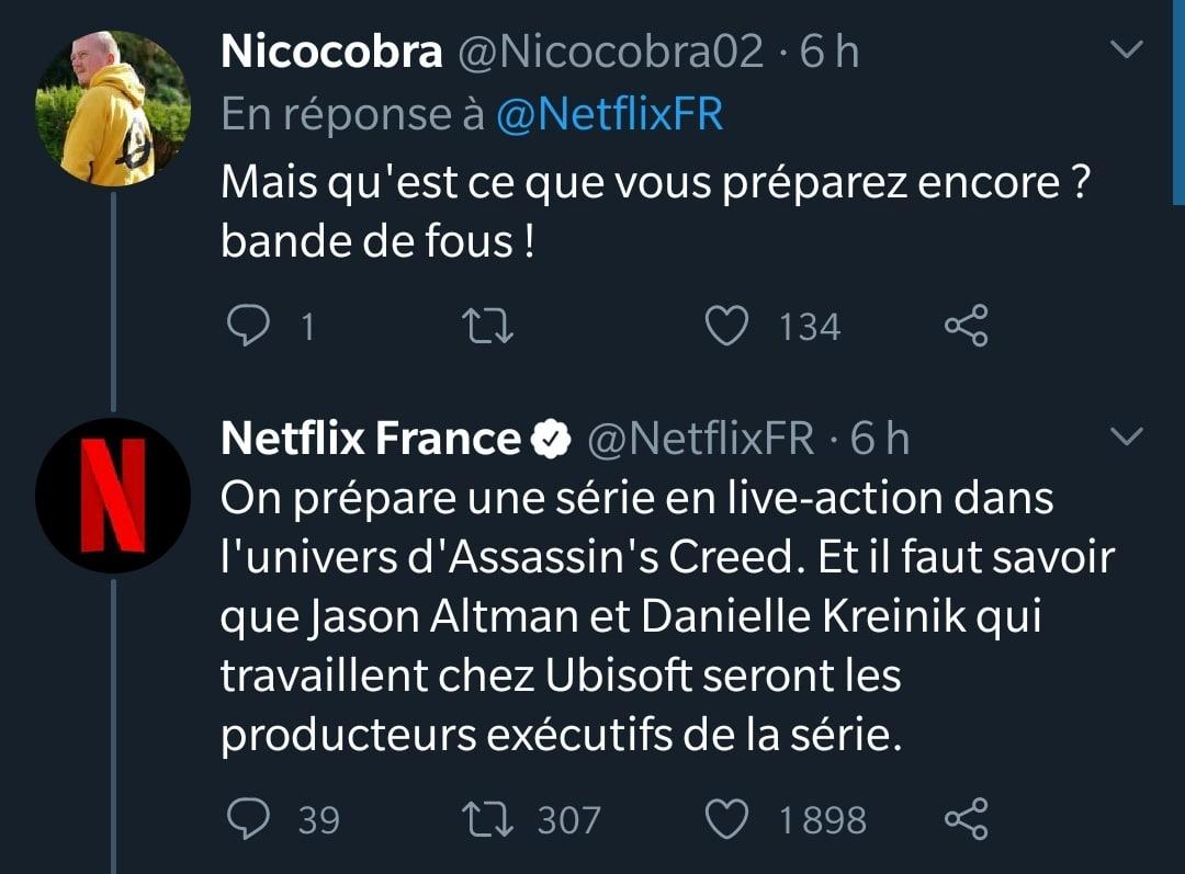 Netflix Producteur executif