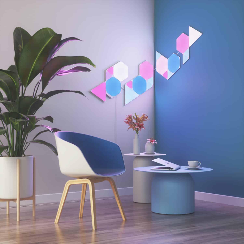 Nanoleaf - Panneaux salon