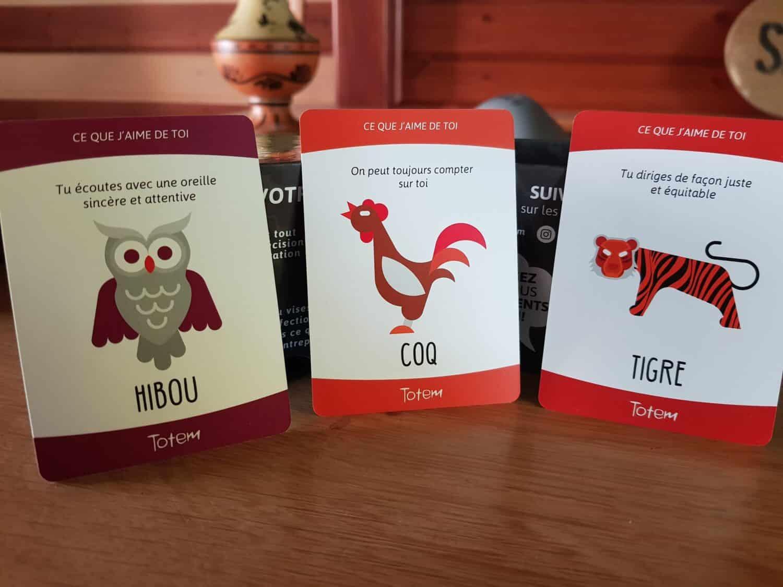 Totem - Cartes Animal