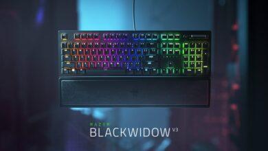 Photo de Razer annonce les claviers BlackWidow V3 et V3 Tenkeyless