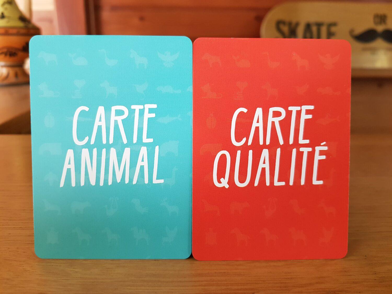Totem - 2 types de cartes