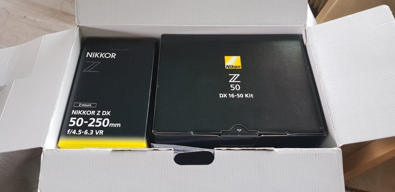Nikon Z50 - Unboxing