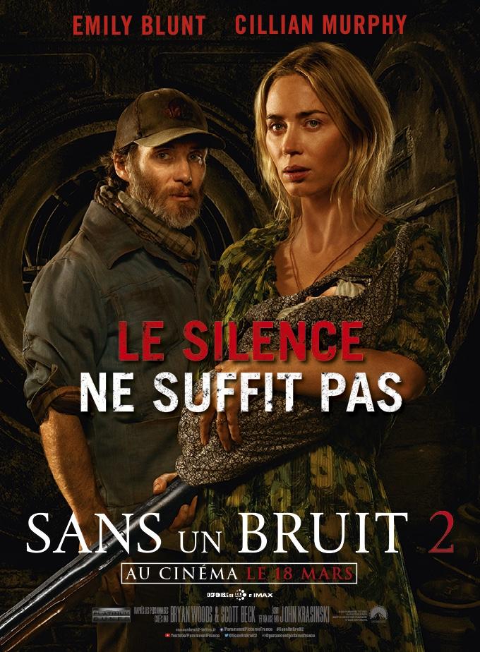 Affiche du film Sans un bruit 2 (2021)