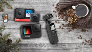 Photo de Notre sélection de caméras pour le sport ou le Vlog – Guide d'achat Noël