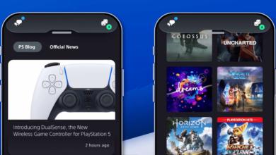 Photo de L'application PlayStation fait peau neuve avant l'arrivée de la PS5