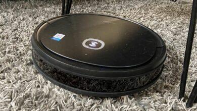 Ecovacs Deebot U2 Pro test tapis