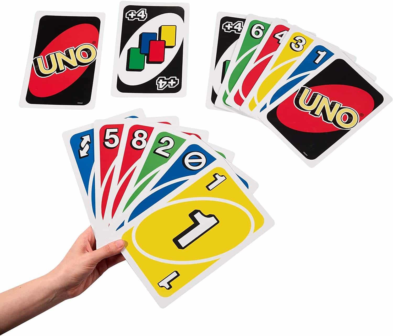 Giant Uno jeux de cartes Noel 2020