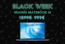 Photo de Huawei MateBook 14 affiché à 999 € soit 300 € de réduction – Black Week