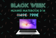 Photo de Huawei MateBook D 14 baisse son prix de 350 € – Black Week