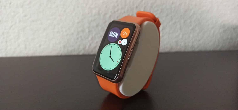 Huawei Watch Fit bouton et couleurs