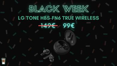 Photo de Les écouteurs LG Tone Free HBS-FN6 baisse à 99€ – Black week