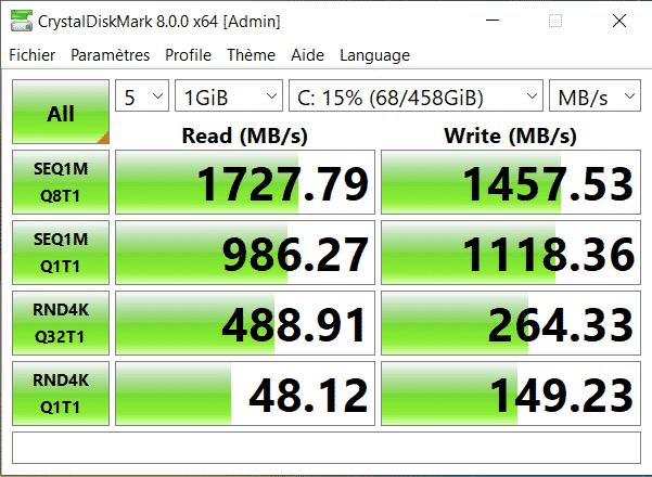 MSI prestige 15 SSD