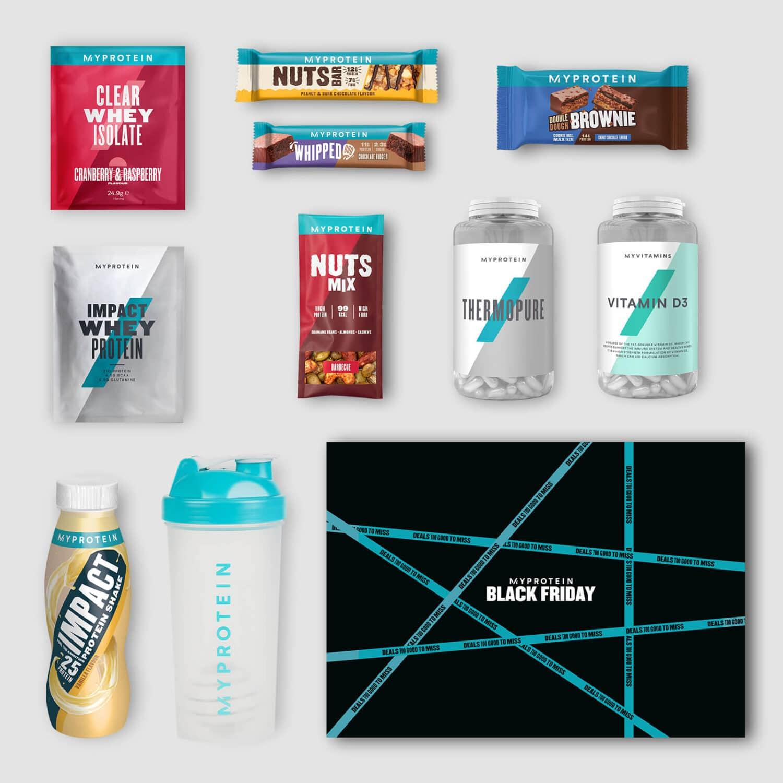 Myprotein promotion blackfriday 2020 box promotion