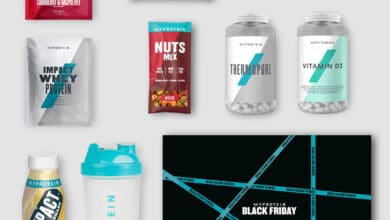 Myprotein promotion blackfriday 2020 box promotion