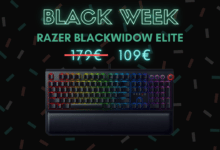 Photo de 70€ de réduction sur le Razer BlackWidow Elite – Black Week