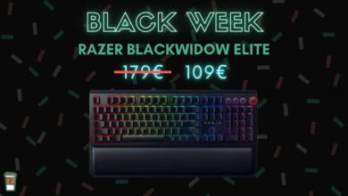 Photo de 70€ de réduction sur le Razer BlackWidow Elite – Black Week