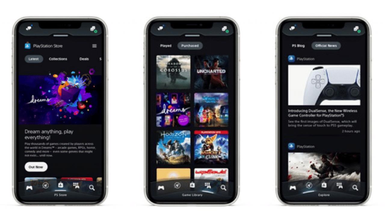 Refonte-design-application-PlayStation