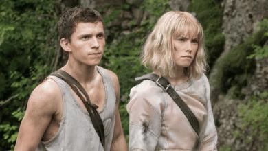Daisy Ridley et Tom Holland dans Chaos Walking